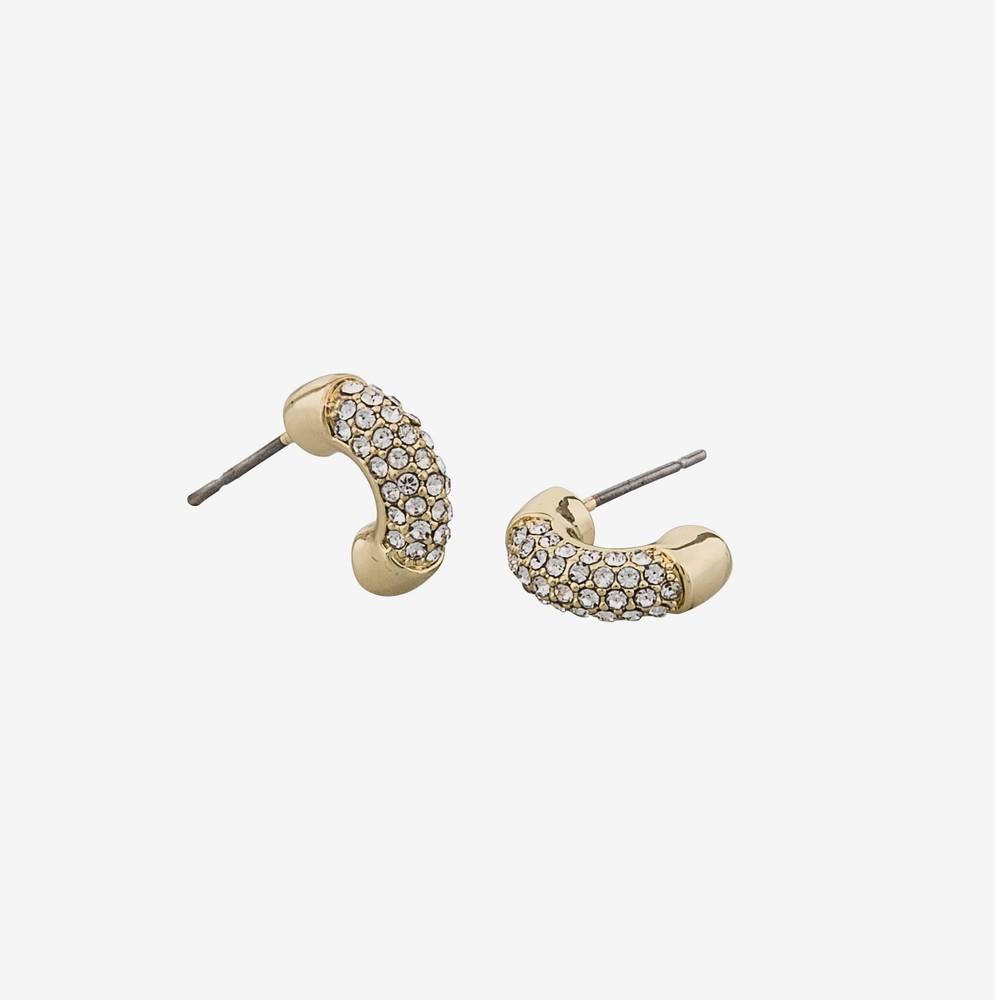 Hide Oval Earring